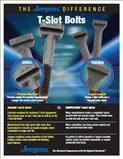 Jegens T-Slot Bolts, workholding solutions