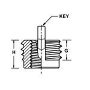 Picture for category Miniature Insert Keylocking Metric